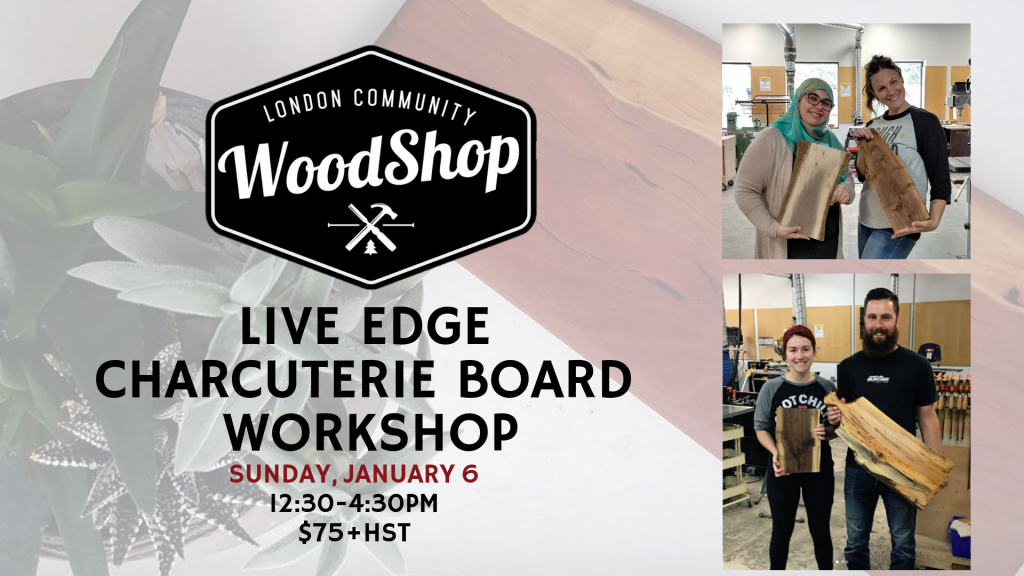 January 6th Charcuterie Board Workshop Image