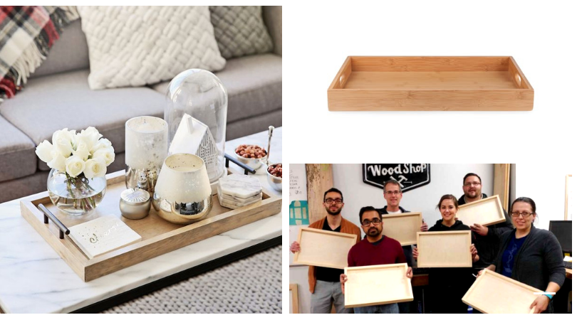 Coffee Table Tray Inspiration