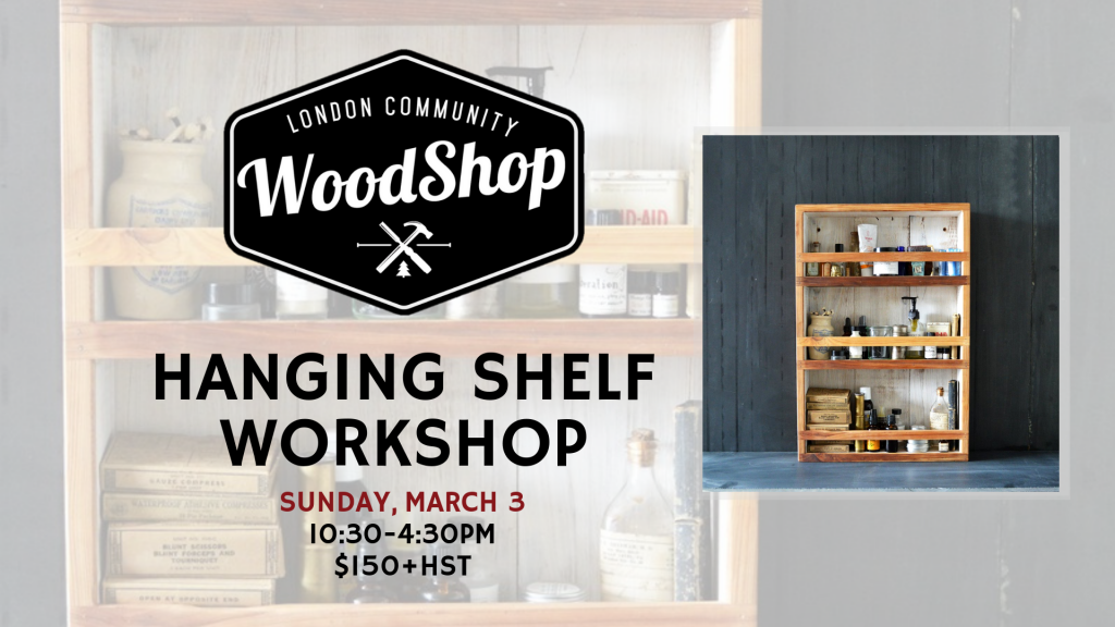 Hanging Shelf Workshop Image