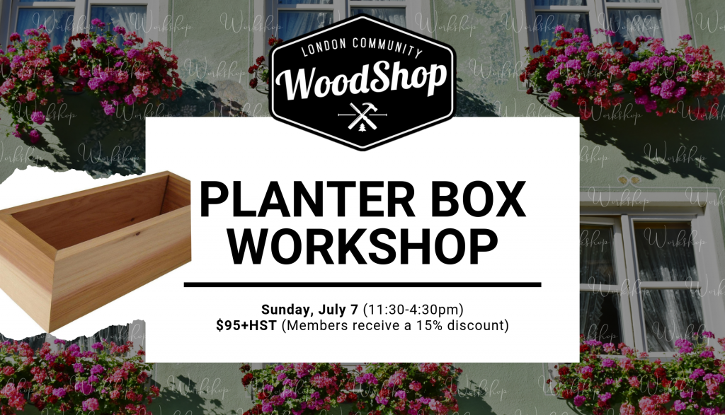 Planter Box Workshop
