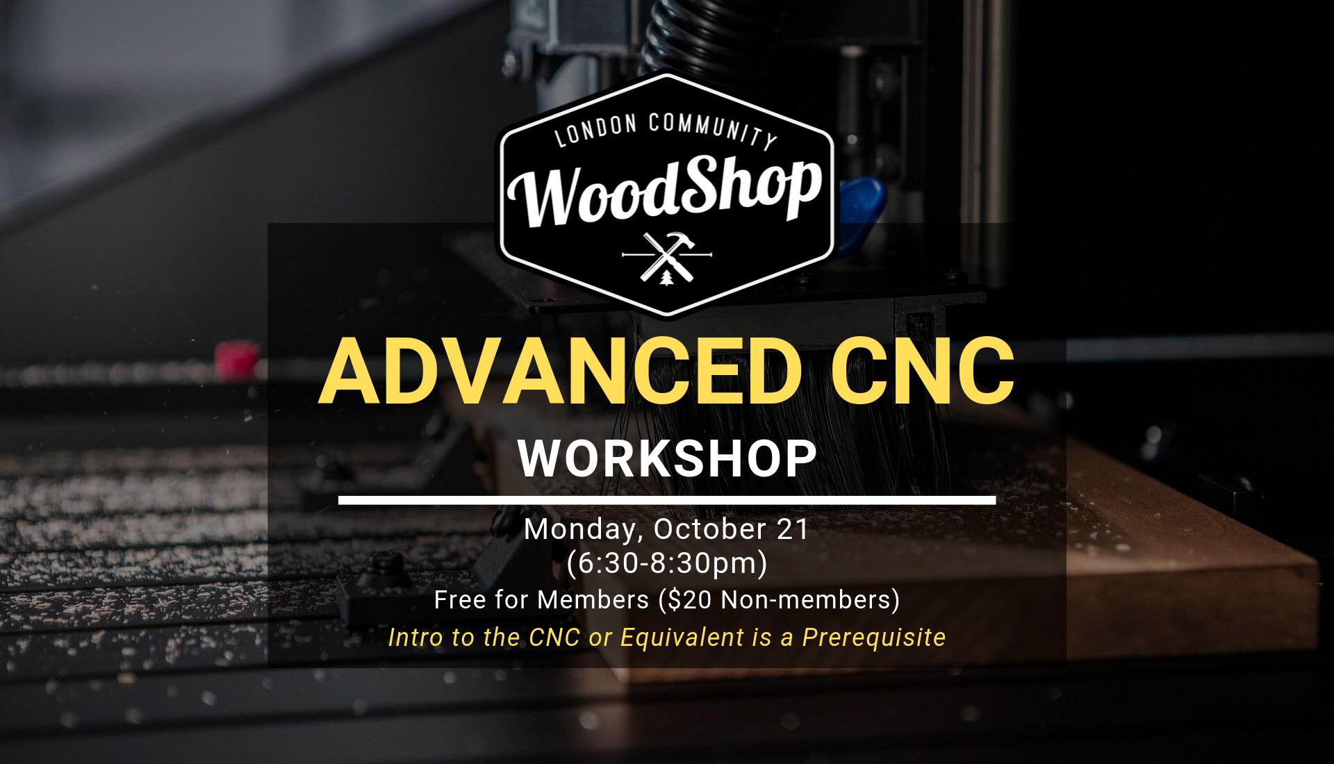 Advanced CNC October 21