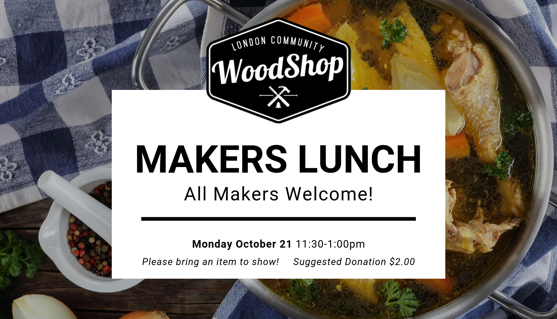 Makers Lunch October 21