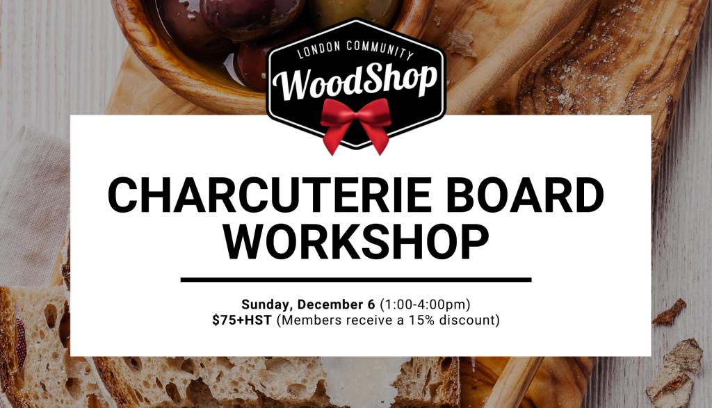 Charcuterie Board Workshop - December 6