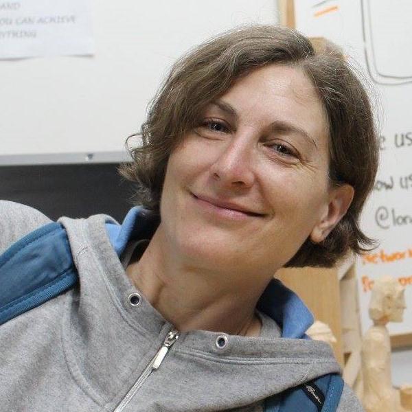 Jen Wilson, Woodshop Assistant