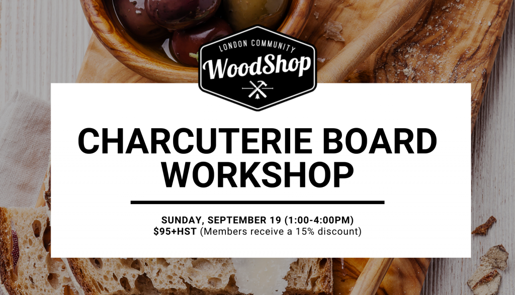 Charcuterie Board Workshop September 19